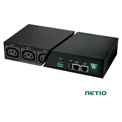 NETIO PowerPDU 4C | 4 Port C13  | LAN RS-232